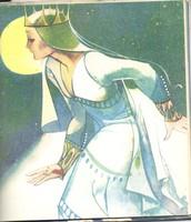 "Элиза - персонаж сказки ""Дикие лебеди"""