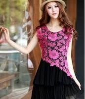 fancy flowered dress