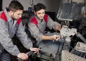 Where mechanic work?