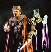 Actor's interpretation of Macbeth after becoming king
