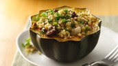 Stuff it with your favorite whole grains and veggies.