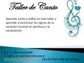 Taller de Canto