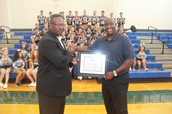 Vernon Crawford Receives Award!