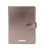Chelsea Mini Ipad Case- Pewter Metallic