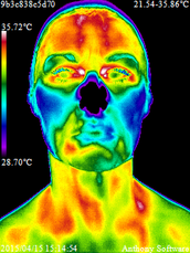 How does infrared thermal imaging work