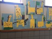 Giraffes from Art Class