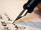 To improve my handwriting