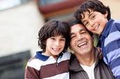 Familias con un padre