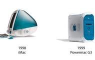 1998 Mac monitor & desktop