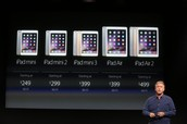 Versions of the iPad
