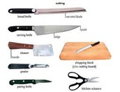 Type of Knifes you Need to Use