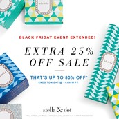 The Black Friday Sale has been extended until TODAY!