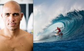 Kelly Slater. Professional Surfer