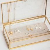Take Heart Pendant Necklace, Earring & Bracelet
