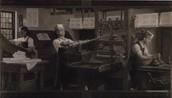 Working at printing press !! 🖨📰