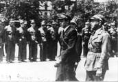 """בגין במסדר בית""""ר, פולין 1939."""