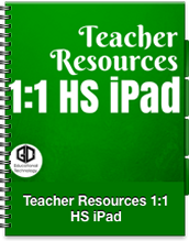 Teacher Resources for 1:1 HS iPads