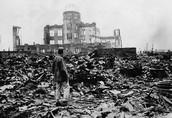 Destruction in Hiroshima