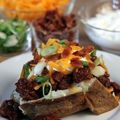 Baked Potato Bar-October 21st