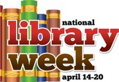 Let's Celebrate National Library Week!