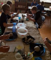 Clay time in Art!
