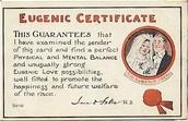Eugenics Policies and Programs
