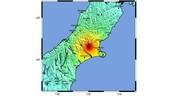 De schade van de aardbeving