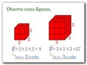 El cuadrado y el cubo