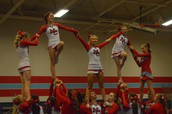 MC Cheer Team Takes School Spirit to New Heights!