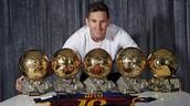 Messi's golden balls