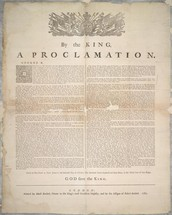 The Proclamation of 1763