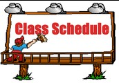 New Student Schedules - Pass Out During Homeroom Monday, February 8