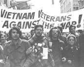Vietnam Vets protest the war