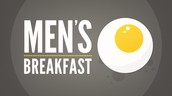 Men's Breakfast,  January 27th @ 6:30 AM