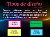 TIPOS DE DISEÑO