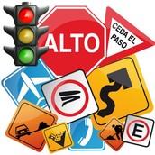 Respetar las Señales de Tránsito