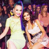 Katy and Selena