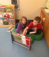 They found a word study word hiding in their book!