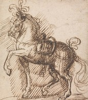 Design for A Plumed Saddle-Horse