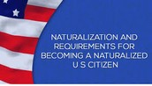 What do i need to be a U.S. citizen