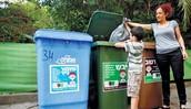 Separar el plastico, vidrio, y cartón y reciclarles.