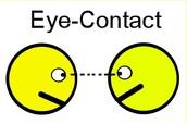 Define Eye Contact