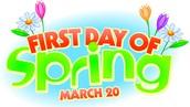 Spring Forward on March 20th...