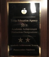 #AISDproud of Pillow for earning two distinctions on the 2015 STAAR!