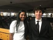 Congrats to Alisha and Jonathan!