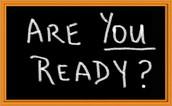 BE READY!!!