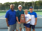 Proud Coaches and Athletic Director