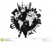 Traveled the world since birth