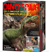 Dinosaur Dig Kit (Each S.O.A.R. member will get their own kit and will take home a miniature T-Rex Skeleton)