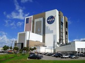 The Cape Canaveral Space center